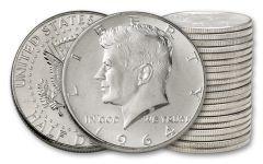 1964 50 Cent Kennedy BU - 20 Pieces (Full Roll)