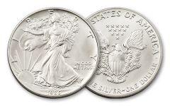 1986 1 Dollar 1-oz Silver Eagle BU