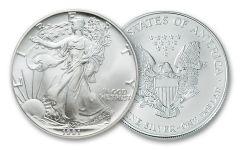 1991 1 Dollar 1-oz Silver Eagle BU