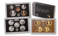 2011-S United States Silver Proof Set