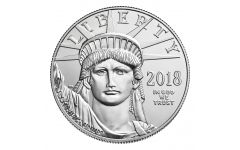 2018 100 Dollar 1-oz Platinum Eagle BU