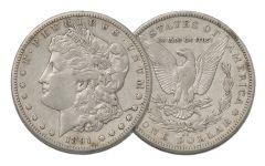 1891-CC Morgan Silver Dollar XF