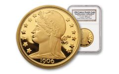 1906 1-oz Gold Barber Double Eagle Pattern NGC Proof