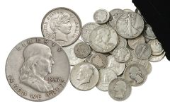 1892-1964 United States Silver Coins 1/4 Pound Bag
