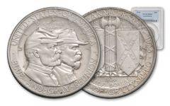 1936 50 Cent Gettysburg NGC/PCGS MS64