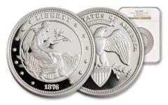 2015 100 Dollar 5-oz Silver Union NGC Proof