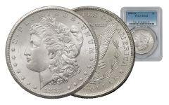 1883-CC Morgan Silver Dollar PCGS MS63