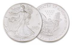 2001 1 Dollar 1-oz Silver Eagle BU