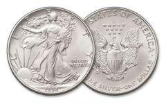 1998 1 Dollar 1-oz Silver Eagle BU
