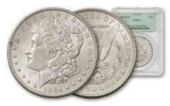 1904-O Morgan Silver Dollar NGC/PCGS MS64
