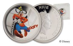 2014 Niue 1-oz Silver Goofy Proof
