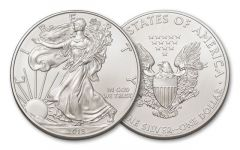 2015 1 Dollar 1-oz Silver Eagle BU