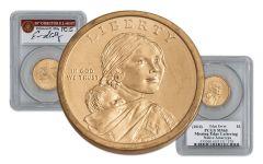 2010 Sacagawea Dollar Error PCGS MS65