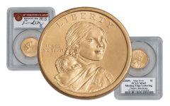 2009 Sacagawea Dollar Error PCGS MS65 Moy Signed