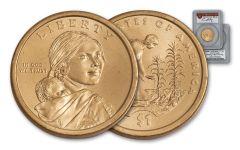 2009 Sacagawea Dollar Error PCGS MS66 Moy Signed