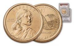 2010 Sacagawea Dollar Error PCGS MS66 Moy Signed