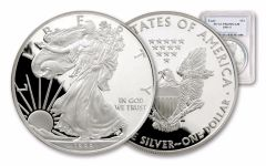 1989-S 1 Dollar 1-oz Silver Eagle NGC/PCGS Proof 69