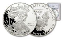 1988 1 Dollar 1-oz Silver Eagle Proof NGC/PCGS PF70