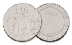 2015 Smithsonian 1-oz Silver London and the Lion