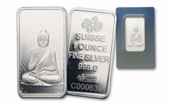 Pamp Suisse 1-oz Silver Buddha Bar