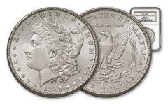 1885-O Morgan Silver Dollar NGC MS63 – Great Montana Collection