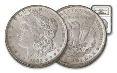 1883-O Morgan Silver Dollar NGC MS63 – Great Montana Collection