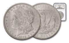 1902-O Morgan Silver Dollar NGC MS64 – Great Montana Collection