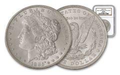 1885-O Morgan Silver Dollar NGC MS66 – Great Montana Collection