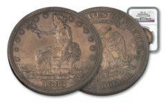 1883 Silver Trade Dollar NGC Details