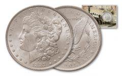 1887 Morgan Silver Dollar Railroad BU