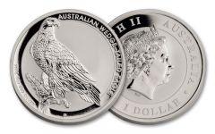 2016 Australia 1-oz Silver Wedge-Tailed Eagle BU