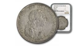 1804 Great Britain 5 Shilling Bank of England NGC MS65