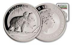 2016 Australia 1-oz Silver Koala First Struck MS69