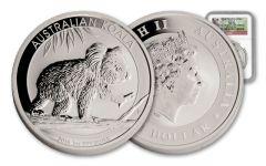 2016 Australia 1-oz Silver Koala First Struck MS70