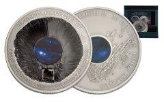 2016 20 Dollar 3-oz Silver Campo del Cielo Meteorite Proof