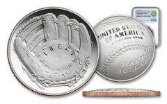 2014-S Baseball Hall of Fame Half Dollar NGC PF69 Smithsonian Coin Classics