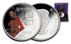 2016 Canada 10 Dollar 1/2-oz Silver Star Trek Uhura Proof