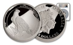 2016 Australia 5-oz Silver Wedge-Tailed Eagle High Relief NGC PF69 UC