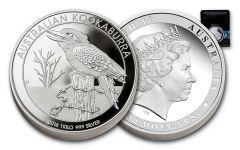 2016 Australia 30 Dollar Kilo Silver Kookaburra Proof