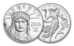 2016-W 100 Dollar 1-oz Platinum Eagle Proof