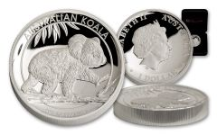 2016 Australia 1-oz Silver Koala High Relief Proof