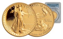 1986 50 Dollar 1-oz Gold Eagle PCGS PF70DCAM