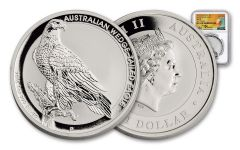 2016 1 Dollar 1-oz Silver Wedge-Tailed Eagle NGC MS70 ANA Mercanti