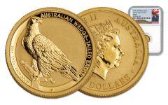 2016 Australia 1/10-oz Gold Wedge-Tailed Eagle NGC MS70
