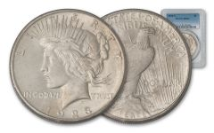 1923-S Peace Dollar PCGS MS63