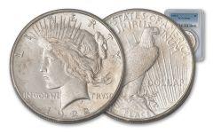 1922-S Peace Dollar PCGS MS64