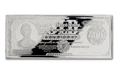 1922 500 Dollar 1-oz Silver Lincoln Gold Treasury Currency Gem Proof
