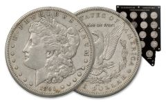 1878-1893-CC Morgan Silver Dollar 14-Pc Set