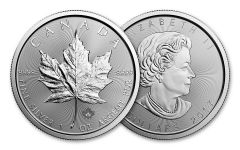 2017 Canada 5 Dollar 1-oz Silver Maple Leaf BU