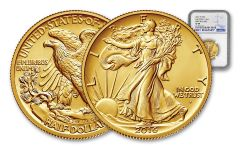 2016-W Half Dollar Gold Walking Liberty NGC SP69 First Releases